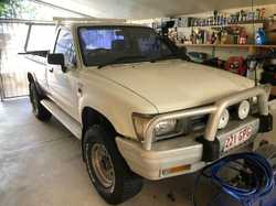 TOYOTA HILUX 93 Model   Style side ute, 2.8 turbo diesel.   For sale as is. $3,500 best o...
