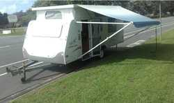 JAYCO 17ft J SERIES POPTOP    11-06 Aircon, Front Awning, Double Bed, Side Annex, Tare 1281kg...
