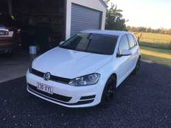 2014 VW GOLF AUTOMATIC SERIES 90TSI HATCHBACK 96K VGC 6 MTHS REGO $12900 0427201301