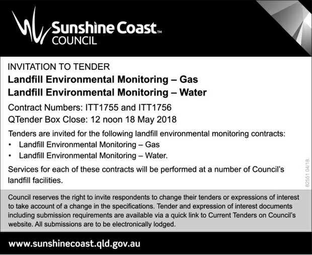 INVITATION TO TENDER   Landfill Environmental Monitoring - Gas   Landfill Environmental M...