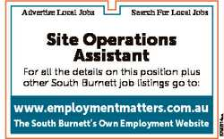 Advertise Local Jobs Search For Local Jobs Site Operations Assistant www.employmentmatters.com.au Th...