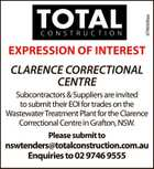 EXPRESSION OF INTEREST CLARENCE CORRECTIONAL CENTRE