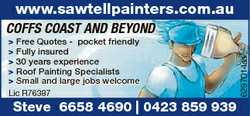 www.sawtellpainters.com.au > Free Quotes - pocket friendly > Fully insured > 30 years exper...
