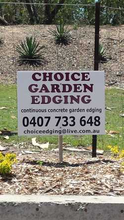 The best continuous concrete garden edging. Toowoomba & surrounds. $500 for approx 30mtrs