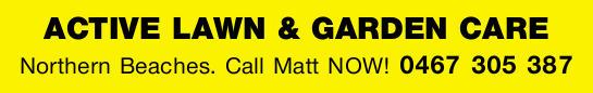 Northern Beaches.   Call Matt NOW!