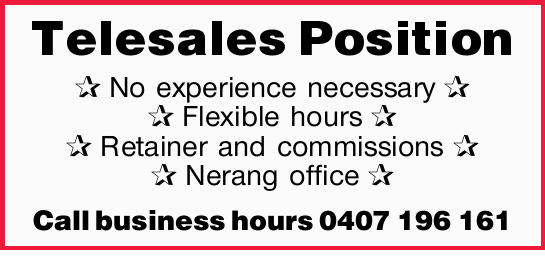 No experience necessary