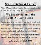 Scott's Timber & Lattice
