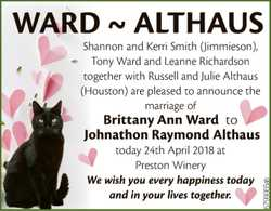 WARD ~ ALTHAUS
