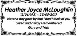Heather Joyce McLoughlin