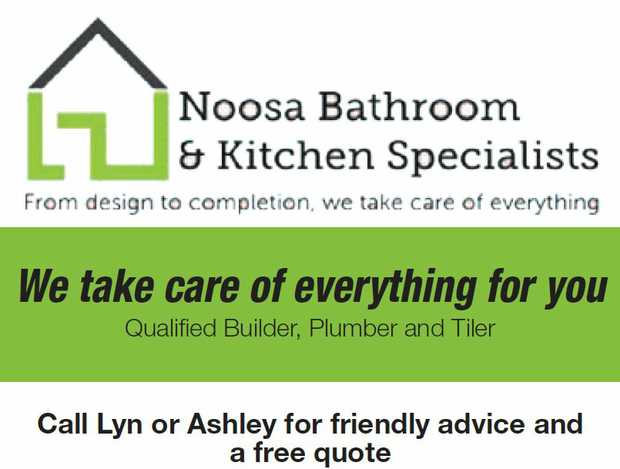 NOOSA BATHROOMS & KITCHENS PTY LTD   We take care of everything for you   Qualified B...