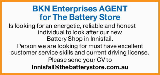 BKN Enterprises AGENT for The Battery Store