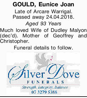 GOULD, Eunice Joan