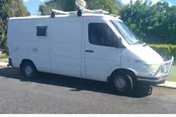 mod man 2.4 diesel camper,  363KXI, reg 17/10/18,  12 x 240v power,  runs well...