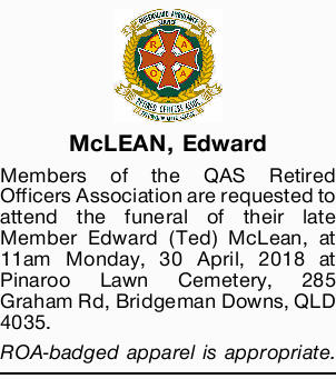 McLEAN, Edward 