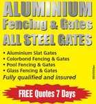 ALLLL STEEL GATES Fencing & Gates