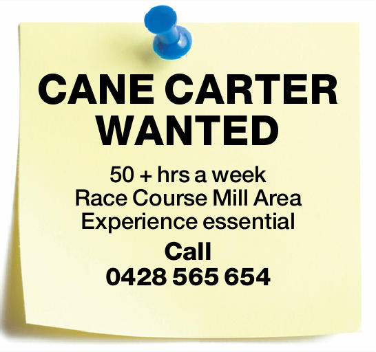 CANE CARTER WANTED