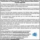 Notification of Proposed nbn™ Radio Network Base Station Facility Upgrade