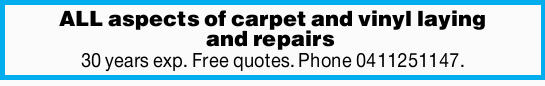 30 years experience      Free quotes.    Phone Today!