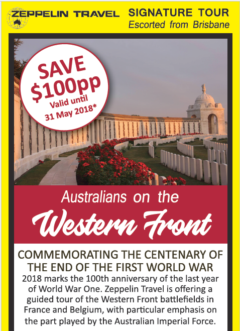 SAVE $100pp Valid until 31 May 2018*