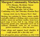 Murgon Community Markets