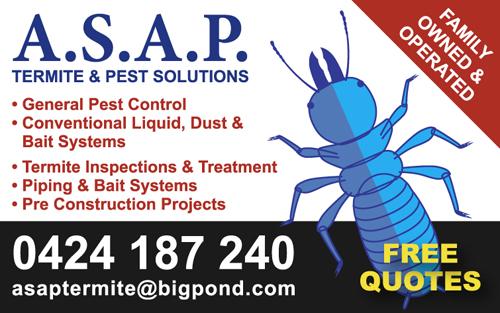 General Pest Control  Conventional Liquid, Dust & Bait Systems  Termite Inspect...
