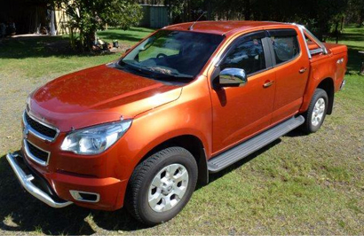 Colorado LTZ 2015 Diesel, auto, 19K, hard back, t/bar, nudge bar, wty, lady owner, no 4WD or towi...