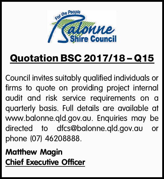 Council invites suitably qualified individuals or firms to quote on providing project inter...