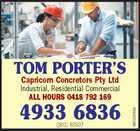 Capricorn Concretors Pty Ltd