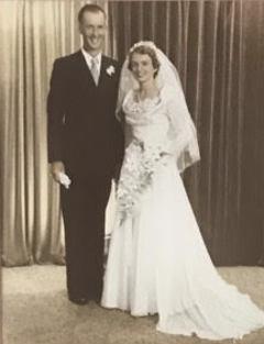 Happy 65th Wedding Anniversary to John and Frances Gooley on 16 May. Lots of love from Frank, Carmel...