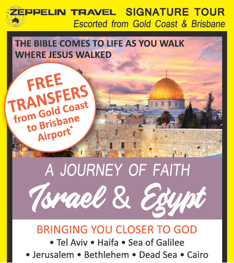 THE BIBLE COMES TO LIFE AS YOU WALK WHERE JESUS WALKED