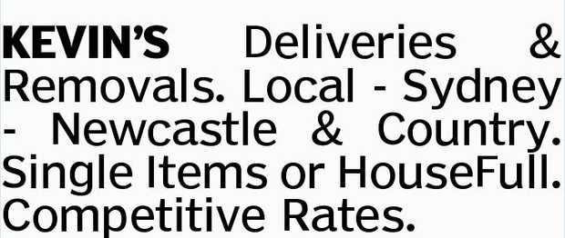 KEVIN'S Deliveries & Removals. 