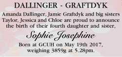 DALLINGER - GRAFTDYK   Amanda Dallinger, Jamie Graftdyk and big sisters Taylor, Jessica and C...
