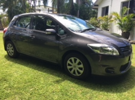 Toyota Corolla Ascent 2011