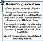 Kevin Douglas Watson