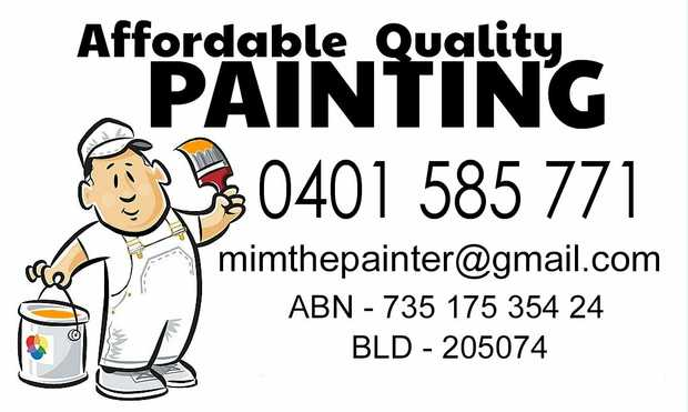 Qualified & Licenced   Interior & Exterior   Free Quotes   No Job too small ...