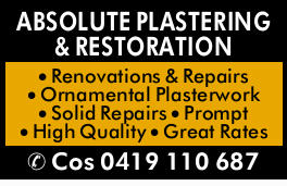 At Absolute Plastering, we are fully qualified plasterers holding Nationally Recognized Qualifica...