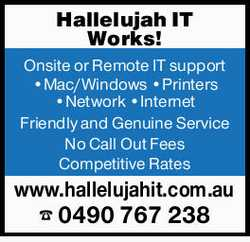 Onsite or Remote IT support