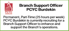 Branch Support Officer PCYC Burdekin