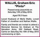 "WALLIS, Graham Eric ""Pinto"""