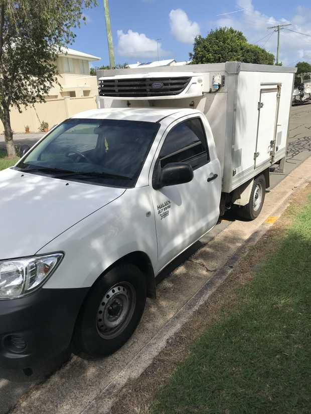 TOYOTA HILUX 2009 Refrigerated Freezer/ Fridge Ute White, petrol, 2 wheel drive RWC, 202,000klms,...