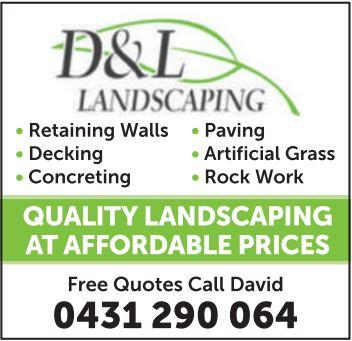 - Retaining Walls   - Decking   - Concreting   - Paving   - Artificial Grass  ...