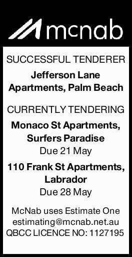 SUCCESSFUL TENDERER