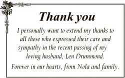 Thank you I personally want to extend my thanks to all those who expressed their care and sympathy i...