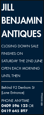 JILL BENJAMIN ANTIQUES CLOSING DOWN SALE   FINISHES ON SATURDAY THE 2ND JUNE   OPEN EACH...