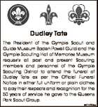 Dudley Tate
