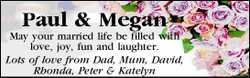 Paul & Megan