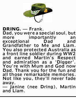 Dad, you were a special soul, but more importantly an exceptional Dad and Grandfather to Me and L...