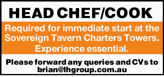 Required for immediate start at the