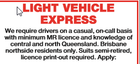 LIGHT VEHICLE EXPRESS