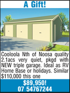 A Gift! Cooloola Nth of Noosa quality 2.1acs